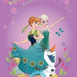 Dečiji tepih Frozen - Anna, Elsa i Olaf