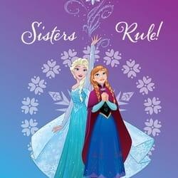 """Dečiji tepih Frozen """"Sister Rules"""""""