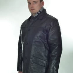 Britanske muske kozne jakne Long Coat 786 - Imdig Leather Group