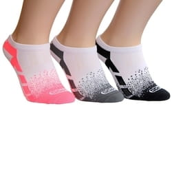 Skechers 3pk Womens Non Terry Low Cut čarape