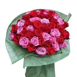101 ruža u buketu - Neka cveće govori umesto Vas !