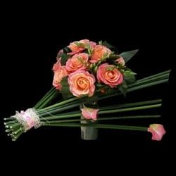 Bidermajeri - Bideramjer sa ružama u ekstravagantnom izdanju
