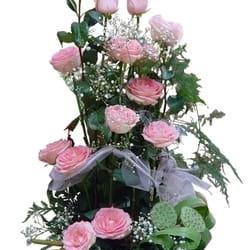 Ruže - roze ruže u korpi