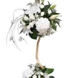 Cveće za venčanje - Belo stablo , čestitamo !!