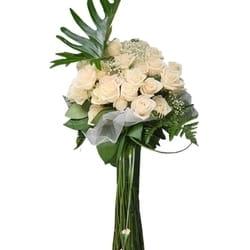 Cveće za venčanje - Buket belih ruža