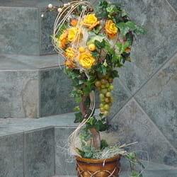 Veštačko cveće - Cvetni aranžman od veštačkog cveća