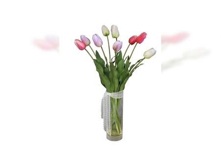 Veštačko cveće - Lale u vazi