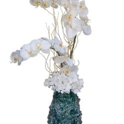 Veštačko cveće - Phalenopsis orhideje u Italijanskoj vazi