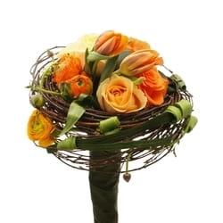 Cveće u narandžastim tonovima - Buket lala