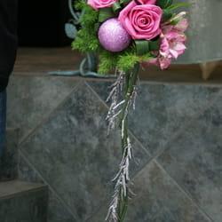 Novogodišnji aranžmani - Buket cveća