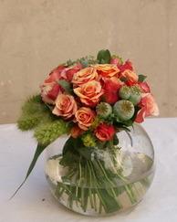 Jesenji cvetni aranžmani - Buket u vazi
