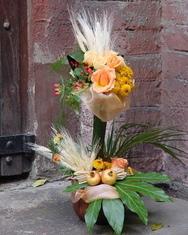 Jesenji cvetni aranžmani - Cvetni aranžman za rođendan