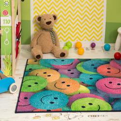 Dečiji tepisi - smajliji - Kuća tepiha