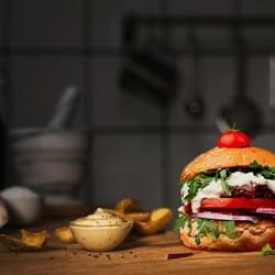 Burger Blue cheese