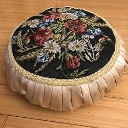 Okrugli stilski jastuci Cvetni buket