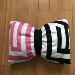 Moderni mašna jastuk Šarene pruge