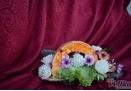 Poklon korpe - rezbareni aranžmani (voće i povrće)
