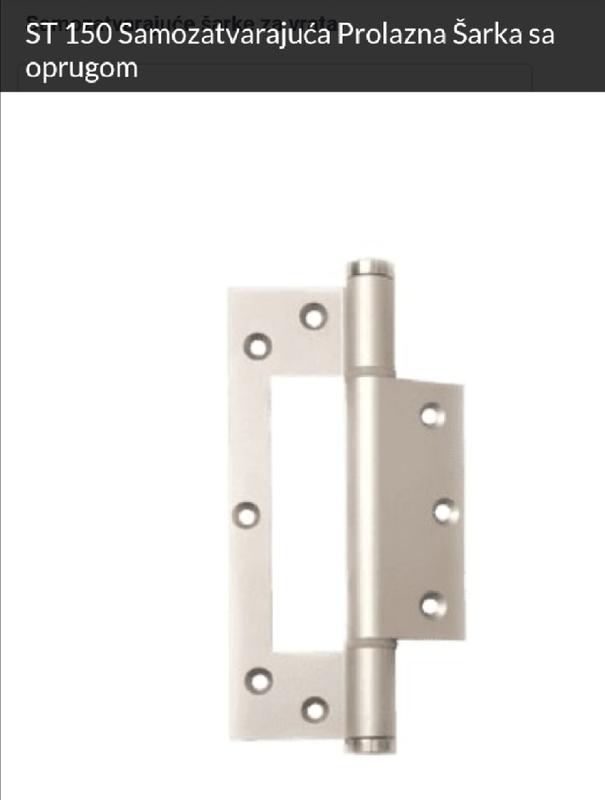 Samozatvarajuća šarka za vrata ST150