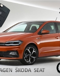 VW AUDI SEAT ŠKODA Kodirani Ključevi