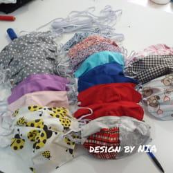 Šivene maske u raznim bojama i dezenima