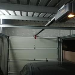Dvojna garažna vrata - slika iznutra