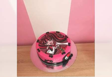 Monsterhigh torta