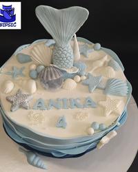 Torta sa morskim motivima