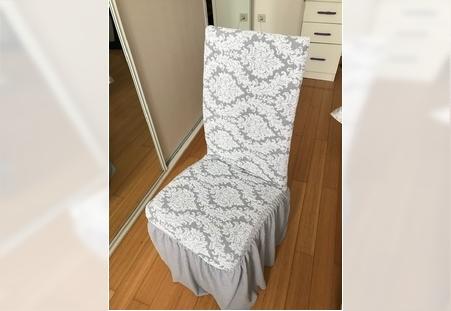 Presvlake za stolice elastične brokat krune
