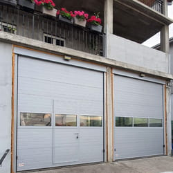 Garažna vrata sa panoramom