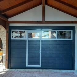 Garažna vrata sa prozorom