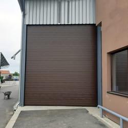 Garažna vrata u boji