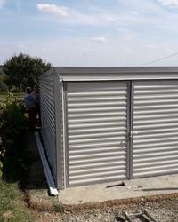 Montazne garaze od plastificiranog lima