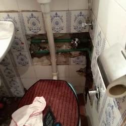 Pokvarena wc šolja