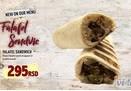 Falafel sendvic