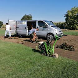 Postavljanje tepih travnjaka