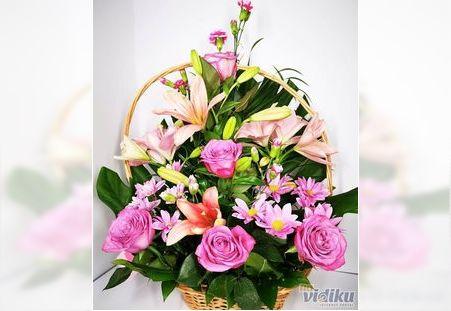 Pepa prase rodjendanska korpa - Cvecara cvet Express