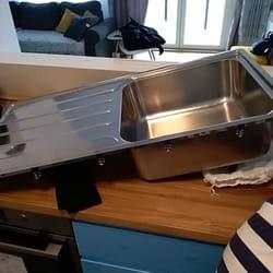 Montaža bojlera i sudopere