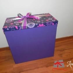 Ukrasna kutija dimenzija 25x50x50cm