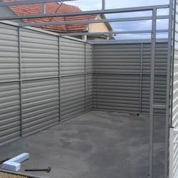Konstrukcija za montaznu garazu