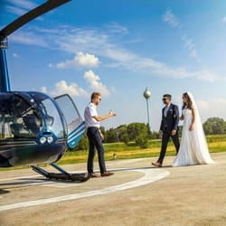 Vencanje u helikopteru