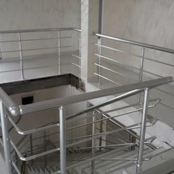 Alu ograda za stepenice