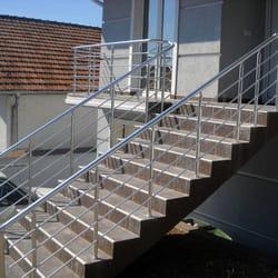 Alu ograde za stepenice i terasu