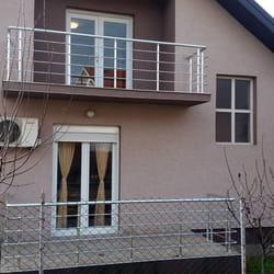 Aluminijumska ograda za balkon