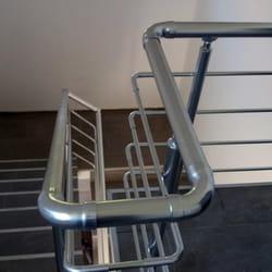 Aluminijumska ograda za unutrasnje stepenice