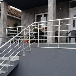 Aluminijumske ograde za stepenice i terasu