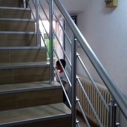Aluminijumske ograde za unutrasnje stepenice