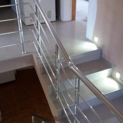 Alu gelender za unutrasnje stepenice