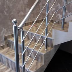 Aluminijumski gelender za unutrasnje stepenice