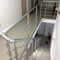 Aluminijumski gelenderi za unutrasnje stepenice