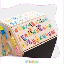 PikPok edukativna kucica za ucenje slova i brojeva